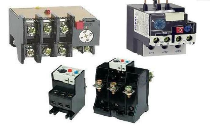 热继电器是利用电流通过元件所产生的热效应原理而反时限动作的继电器