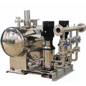 无负压供水设备原理