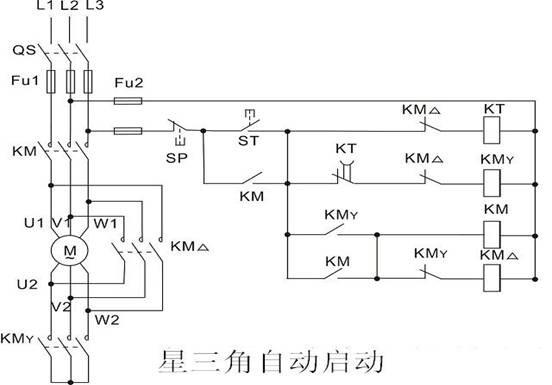 js14a时间继电器接线图